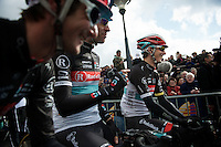 Liege-Bastogne-Liege 2012.98th edition..Laughing with a Jens Voigt joke