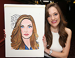 Laura Osnes attends the Laura Osnes Sardi's Portrait Unveiling at Sardi's on May 12, 2017 in New York City.