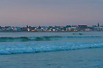 Dawn over the Struisbaai coastline, Struisbaai, Western Cape, South Africa