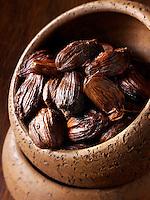 Black cardamom stock photos
