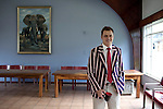 BLOEMFONTEIN, SOUTH AFRICA APRIL 17, 2013: William Clayton, the student's president poses for a portrait in the Armentum residence at the University of the Free State in Bloemfontein, South Africa. Photo by: Per-Anders Pettersson