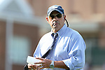 16 September 2016: UNC assistant coach Bill Palladino. The University of North Carolina Tar Heels hosted the North Carolina State University Wolfpack in a 2016 NCAA Division I Women's Soccer match. NC State won the game 1-0.