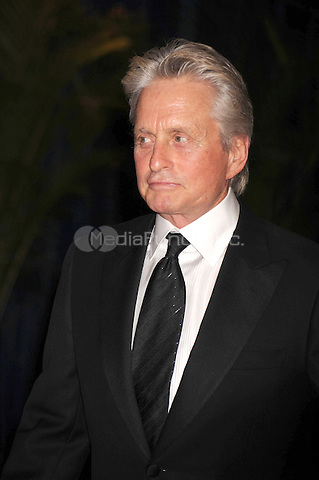Michael Douglas arrives at the White House Correspondents' Association Dinner in Washington, DC. May 1, 2010. Credit: Dennis Van Tine/MediaPunch