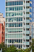 Apartment Building Perry West Designed by Richard Meier,  Late Modern, International Style 3, Greenwich Village, New York City, New York, USA