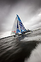 Act 5, Cardiff, Extreme Sailing Series. Day 04. ..Credit: Lloyd Images