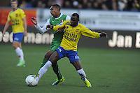 VOETBAL: CAMBUURSTADION: LEEUWARDEN: 03-11-2013, Cambuur-Feyenoord, uitslag 0- 2, Jody Lukoki, ©foto Martin de Jong