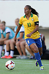 10 November 2013: Rosana (BRA). The United States Women's National Team played the Brazil Women's National Team at the Citrus Bowl in Orlando, Florida in an international friendly soccer match.