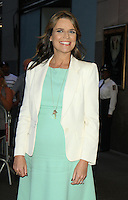 NEW YORK, NY-August 03: Savannah Guthrie host of Today Show leaving NBC Studio  at 30 Rock in New York. NY August 03, 2016. Credit:RW/MediaPunch