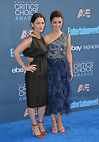 Robin Tunney &amp; Shiri Appleby at the 22nd Annual Critics' Choice Awards at Barker Hangar, Santa Monica Airport. <br /> December 11, 2016<br /> Picture: Paul Smith/Featureflash/SilverHub 0208 004 5359/ 07711 972644 Editors@silverhubmedia.com