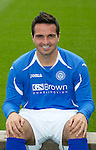 St Johnstone FC...Season 2011-12.Sean Higgins.Picture by Graeme Hart..Copyright Perthshire Picture Agency.Tel: 01738 623350  Mobile: 07990 594431
