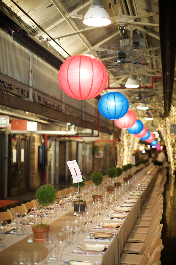 NEW YORK, NY - March 26, 2017: The James Beard Foundation and Jamestown present the 9th Annual Sunday Supper event at Chelsea Market.<br /> <br /> Credit: Clay Williams for the James Beard Foundation.<br /> <br /> &copy; Clay Williams / http://claywilliamsphoto.com