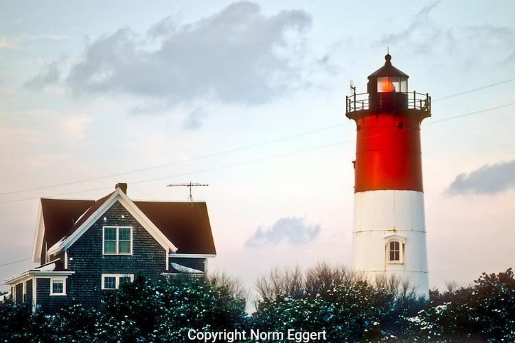 Nauset Light, Cape Cod, MA.