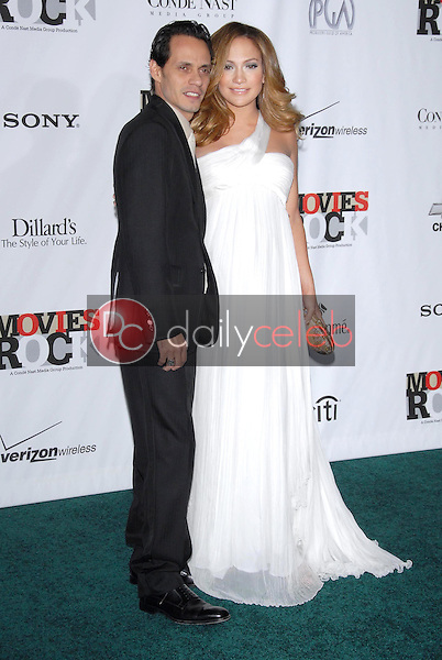 Marc Anthony and Jennifer Lopez<br />at 'Movies Rock' A Celebration Of Music In Film, Kodak Theatre, Hollywood, CA. 12-02-07<br />Dave Edwards/DailyCeleb.com 818-249-4998