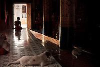 Monastère à Luang Prabang Laos.