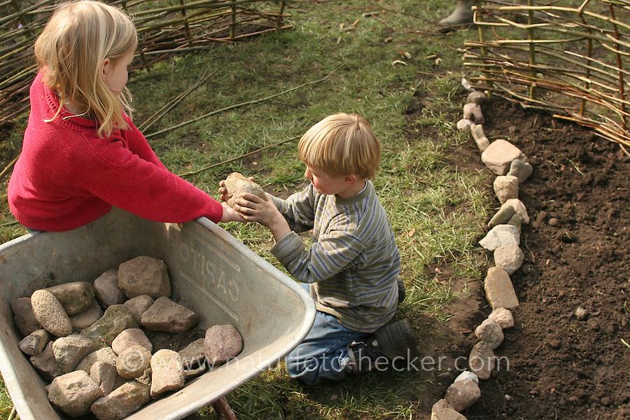 kinderbeet | naturfoto frank hecker, Hause und Garten