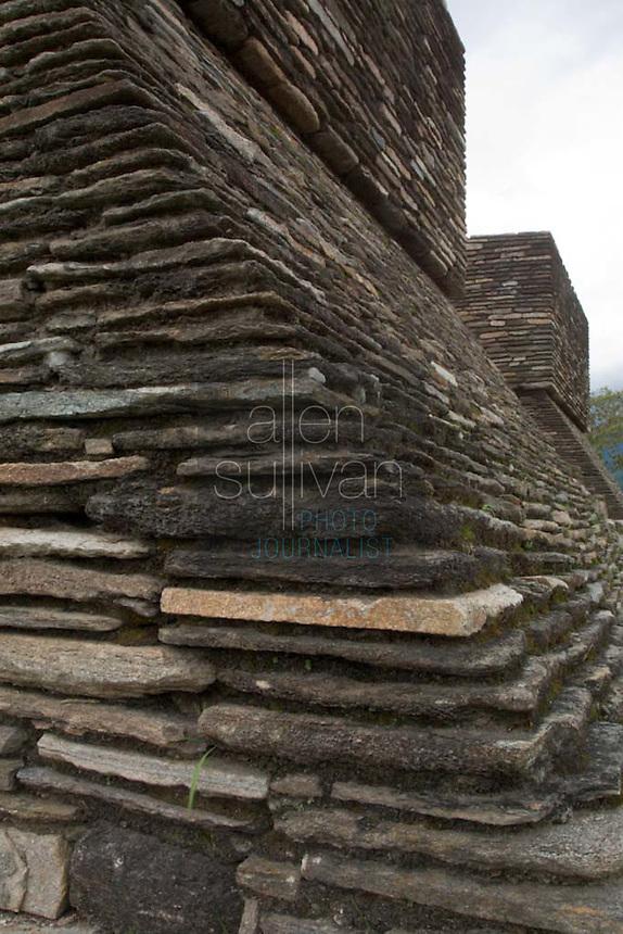 Mixco Viejo, a Mayan site in Guatemala.