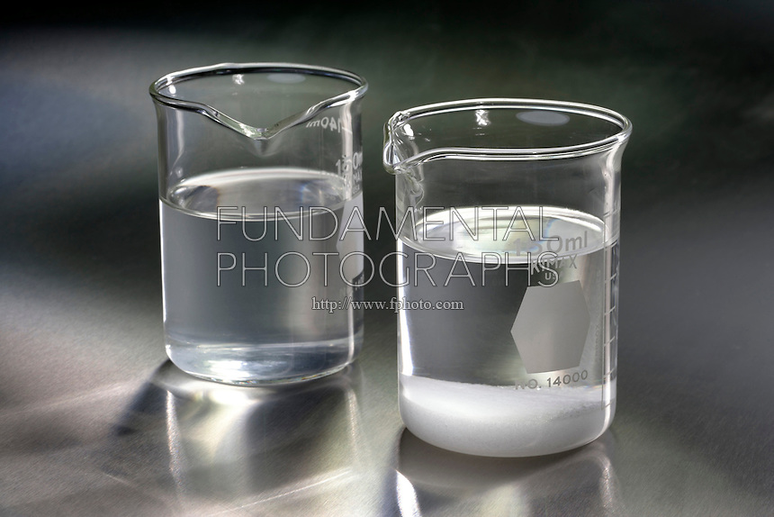 COMPARISON CONCENTRATED AND SATURATED NaCl<br />