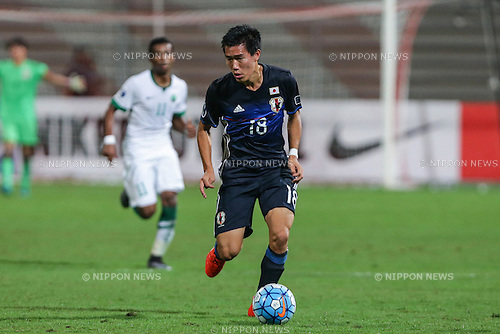 Keita Endo (JPN), OCTOBER 30, 2016 - Football / Soccer : AFC U-19 Championship Bahrain 2016 Final match between Japan 0(5-3)0 Saudi Arabia at Bahrain National Stadium in Riffa, Bahrain. (Photo by AFLO)