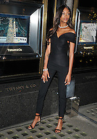 Jourdan Dunn at the unveiling of the Tiffany &amp; Co Christmas windows display, Tiffany &amp; Co, Old Bond Street, London, England, UK, on Monday 07 November 2016. <br /> CAP/CAN<br /> &copy;CAN/Capital Pictures /MediaPunch ***NORTH AND SOUTH AMERICAS ONLY***