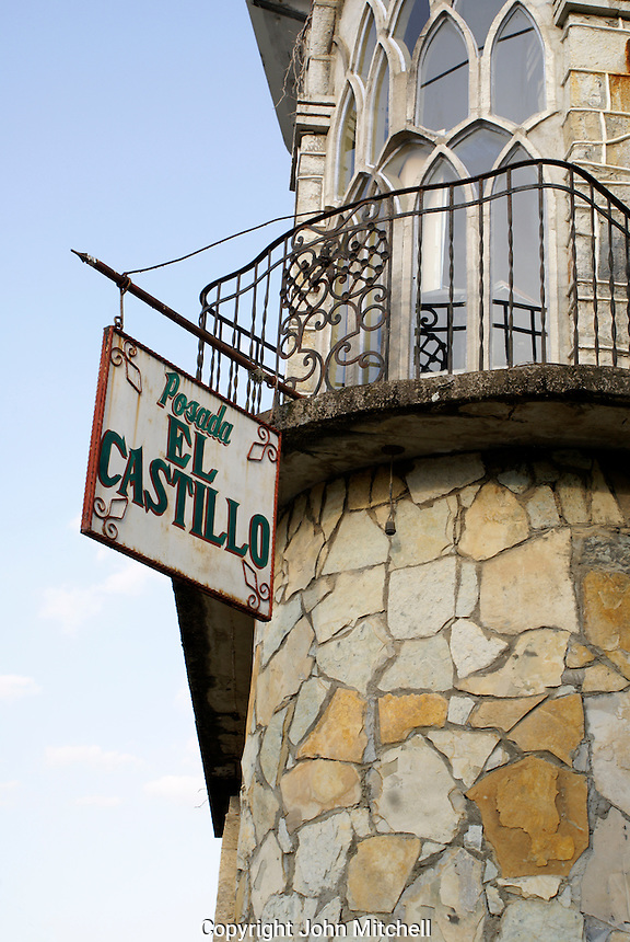 Posada El Castillo, former home of Edward James in Xilitla, San Luis Potosi state, Mexico