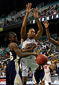 Maryland defeated Georgia Tech 68-65 during the 2012 ACC Women's Championship game at the Greensboro Coliseum in Greensboro, NC. Photo by Al Drago.