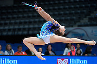 September 10, 2015 - Stuttgart, Germany - JAZZY KERBER of USA performs during AA qualifications at 2015 World Championships.