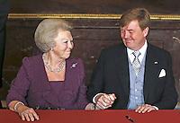 Queen Beatrix Of The Netherlands abdicates