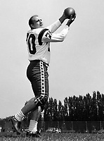 Bobby Simpson Ottawa Rough Riders 1960. Copyright photograph Ted Grant