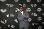 Michael Strahan at FOX Sports 1 celebrates the official Thursday Night Super Bash at Time Warner Cable Studios. Hosts MichaelStrahanand Erin Andrews Superbowl week, NY