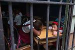HAVANA, CUBA -- MARCH 25, 2015:   Girls attend school in Havana, Cuba on March 25, 2015. Photograph by Michael Nagle