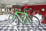 Tommasini cross bike on display in the showroom at the Tommasini factory based in Grosseto, Tuscany, Italy 6th March 2017.<br /> Picture: Eoin Clarke | Newsfile<br /> <br /> <br /> All photos usage must carry mandatory copyright credit (&copy; Newsfile | Eoin Clarke)