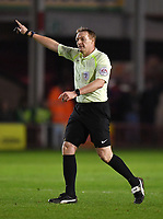 Referee Trevor Kettle<br /> <br /> Photographer Dave Howarth/CameraSport<br /> <br /> The EFL Sky Bet League One - Walsall v Fleetwood Town - Tuesday 14th March 2017 - Banks's Stadium - Walsall<br /> <br /> World Copyright &copy; 2017 CameraSport. All rights reserved. 43 Linden Ave. Countesthorpe. Leicester. England. LE8 5PG - Tel: +44 (0) 116 277 4147 - admin@camerasport.com - www.camerasport.com