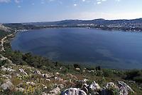 APR 2002, Cefalonia - Luoghi dove si svolse la battaglia che porto' alla cattura della divisione Acqui.April 2002, Kefalonia - Places where the battle  that brought to the capture of the Acqui Division took place