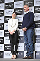 "(L to R) Rooney Mara, David Fincher, JANUARY 31, 2012: Rooney Mara and David Fincher, attends press conference for the film ""The girl with the dragon tattoo"" at Tokyo Mid Town, Tokyo, Japan. (Photo by Atsushi Tomura/AFLO) [1035]"