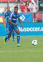 July 3, 2013: Montreal Impact midfielder Patrice Bernier #8 in action during an MLS game between Toronto FC and Montreal Impact at BMO Field in Toronto, Ontario Canada.<br /> The game ended in a 3-3 draw.