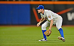24 July 2012: New York Mets infielder Daniel Murphy in action against the Washington Nationals at Citi Field in Flushing, NY. The Nationals defeated the Mets 5-2 to take the second game of their 3-game series. Mandatory Credit: Ed Wolfstein Photo
