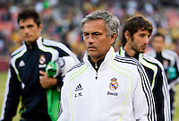 Jose Mourinho. Real Madrid defeated Club America 3-2 at Candlestick Park in San Francisco, California on August 4th, 2010.