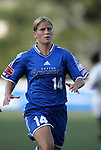 13 July 2003: Dagny Mellgren of Norway. The Boston Breakers defeated the Philadelphia Charge 3-1 at Boston University's Nickerson Field in Boston, MA in a regular season WUSA game..Mandatory Credit: Andy Mead/Icon SMI
