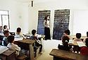 Irak 2000. Classe d'Araméen à l'école de Levo.   Iraq 2000. In Levo, a christian village, lecture of Arameen