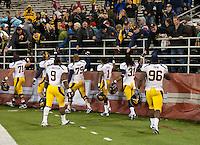 California Football vs Washington State, October 13, 2012