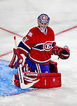 31 January 2009: Montreal Canadiens' goaltender Carey Price in action during the second period against the Los Angeles Kings at the Bell Centre in Montreal, Quebec, Canada. The Canadiens defeated the Kings 4-3. ***** Editorial Sales Only ***** Mandatory Photo Credit: Ed Wolfstein Photo
