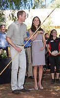 Kate, Duchess of Cambridge & Prince William visit the National Indigenous  Academy - Australia