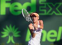 AGNIESZKA RADWANSKA (POL)<br /> Tennis - Sony Open - ATP-WTA -  Miami -  2014  - USA  -  21 March 2014. <br /> &copy; AMN IMAGES
