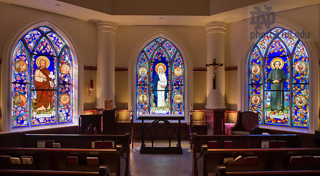 Stinson-Remick chapel...Photo by Matt Cashore/University of Notre Dame