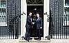 Enda Kenny the  Taoiseach of Ireland is welcomed by David Cameron, Prime Minister in Downing Street ahead of the fourth UK-Ireland Summit.<br /> 18th June 2015 <br /> <br /> Enda Kenny <br /> David Cameron <br /> <br /> <br /> Photograph by Elliott Franks <br /> Image licensed to Elliott Franks Photography Services