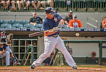 22 March 2015: Houston Astros infielder Matt Dominguez in Spring Training action against the Pittsburgh Pirates at Osceola County Stadium in Kissimmee, Florida. The Astros defeated the Pirates 14-2 in Grapefruit League play. Mandatory Credit: Ed Wolfstein Photo *** RAW (NEF) Image File Available ***
