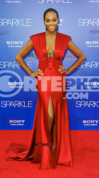 Tika Sumpter, Red carpet at The Premiere of Sparkle at Graumans Chinese Theatre in Hollywood California.. /NOrtePHOTO.COM<br />