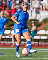 Boston Breakers defender Bianca D'Agostino (19).  The Boston Breakers beat the Chicago Red Stars 1-0 at Dilboy Stadium.