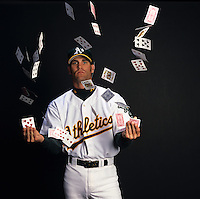 Tim Hudson, pitcher, Oakland Athletics