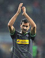 FUSSBALL   1. BUNDESLIGA  SAISON 2011/2012   16. Spieltag FC Augsburg - Borussia Moenchengladbach            10.12.2011 Martin Stranzl  (Borussia Moenchengladbach)